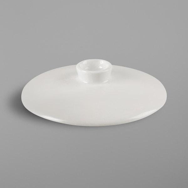 RAK Porcelain NNCS27LD Nano Ivory Porcelain Bowl Lid - 12/Case