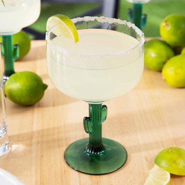 Libbey 3620JS 16 oz. Cactus Margarita Glass - 12/Case