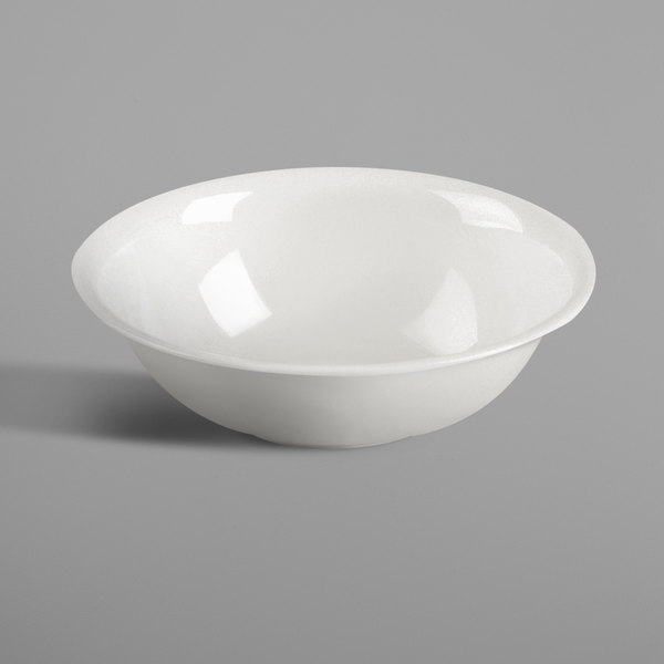 RAK Porcelain NNBD07 Nano 3.1 oz. Ivory Porcelain Dish - 12/Case Main Image 1