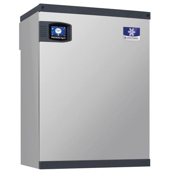 Manitowoc IBF0820C Indigo NXT QuietQube 22 inch Remote Condenser Half Size Cube Ice Machine - 825 lb.; 115V