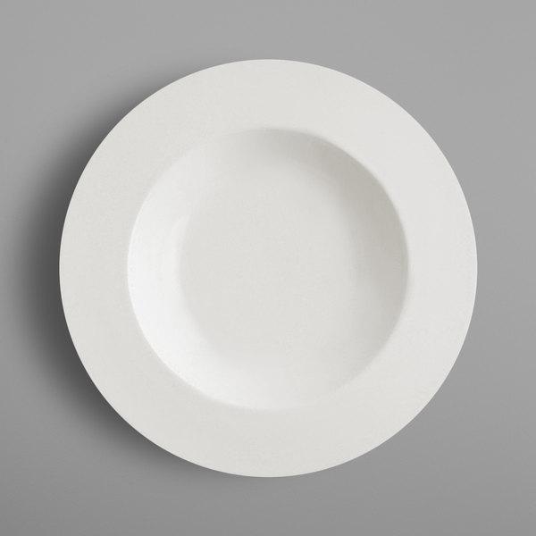 """RAK Porcelain FDDP31 Fine Dine 12 1/4"""" Ivory Porcelain Deep Plate - 6/Case"""