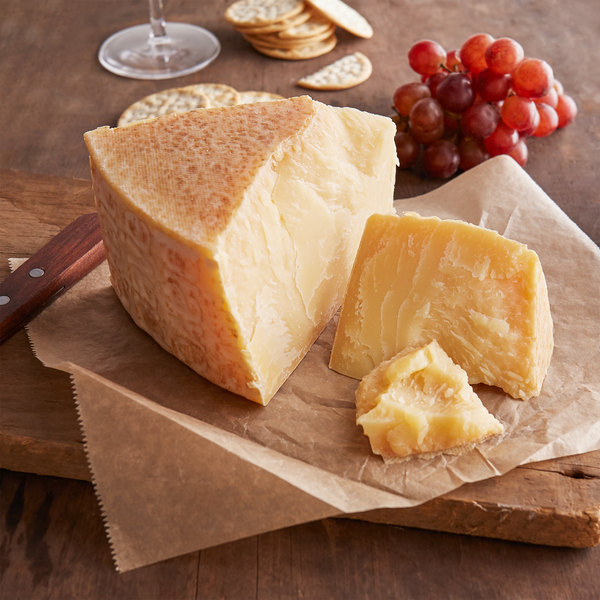 Agriform 14 lb. 12-Month Extra-Aged Piave Vecchio DOP Cheese Wheel
