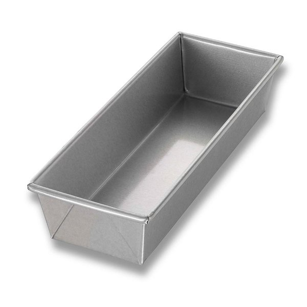 Chicago Metallic 40491 1 1/2 lb. Single Open Top Bread Pan - 12 1/4 inch x 4 1/2 inch x 2 3/4 inch