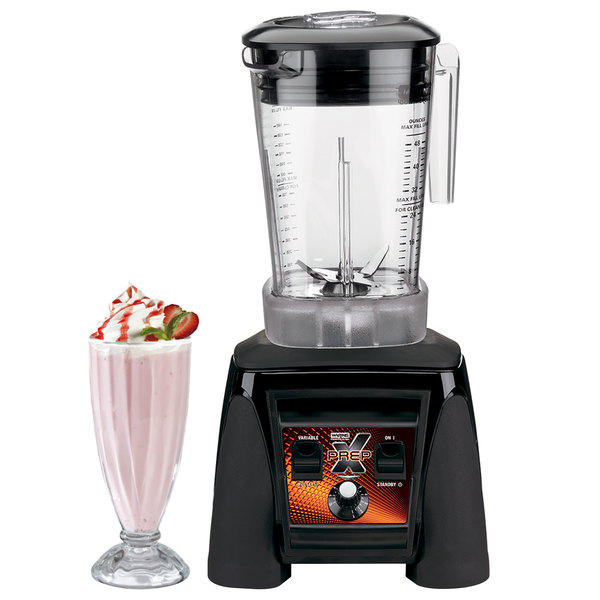 Waring MX1200XTXP X-Prep 3 1/2 hp Commercial Blender with Adjustable Speed / Paddle Switches and 48 oz. Copolyester Container Main Image 2