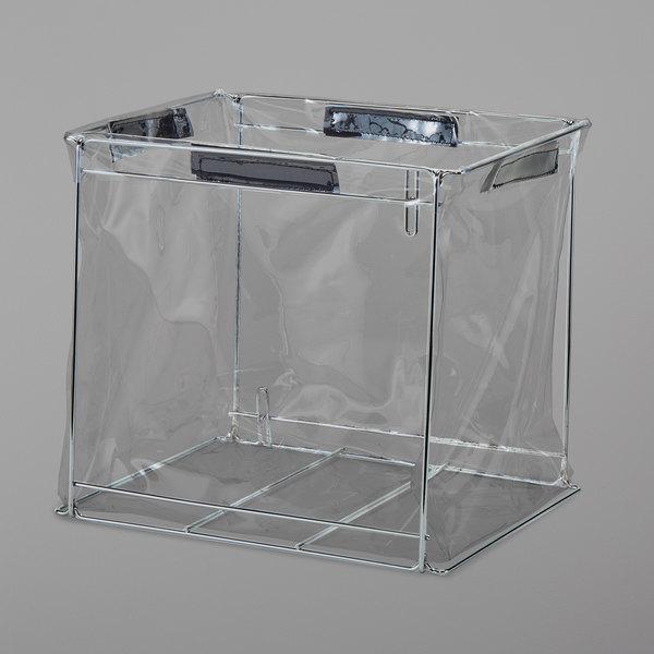 "Cambro GBFLG000 GoBag™ Large Metal Delivery Bag Liner Frame - 18"" x 14"" x 12"""