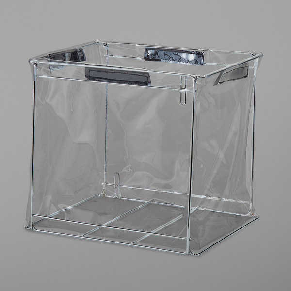 """Cambro GBFSM000 GoBag™ Small Metal Delivery Bag Liner Frame - 13"""" x 10"""" x 9"""""""