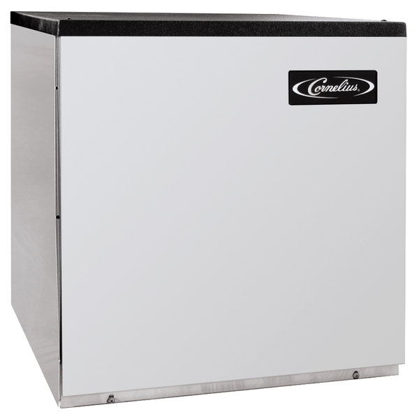"Cornelius CCM0522WH1 Nordic Series 22"" Water Cooled Half Size Cube Ice Machine - 507 lb."