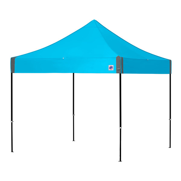 E-Z Up EP3STL10KFBKTSP Enterprise Instant Shelter 10' x 10' Splash Canopy with Black Frame Main Image 1