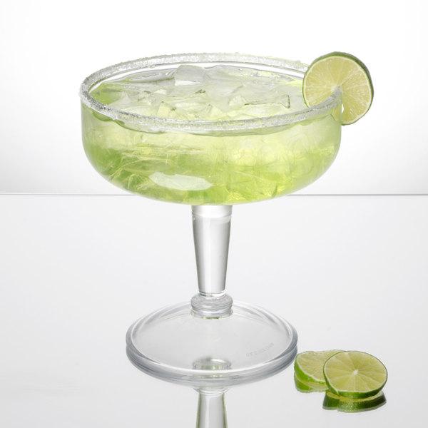 GET SW-1432 32 oz. Customizable SAN Plastic Margarita Glass