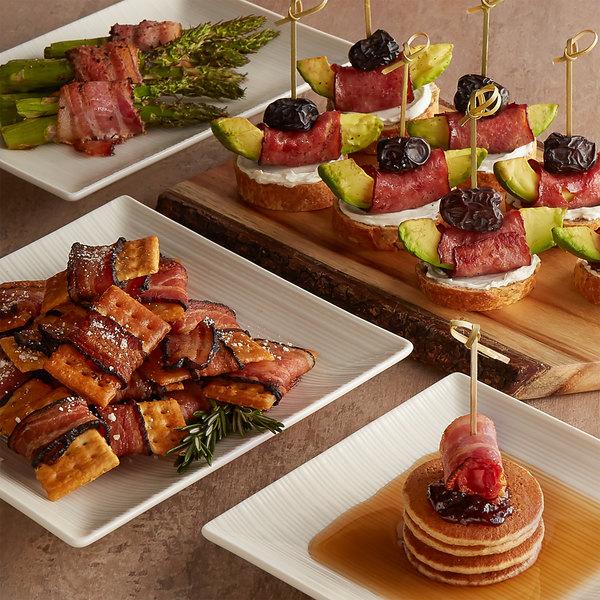 Kunzler 3 lb. Sliced Bacon Variety Pack - 8/Case