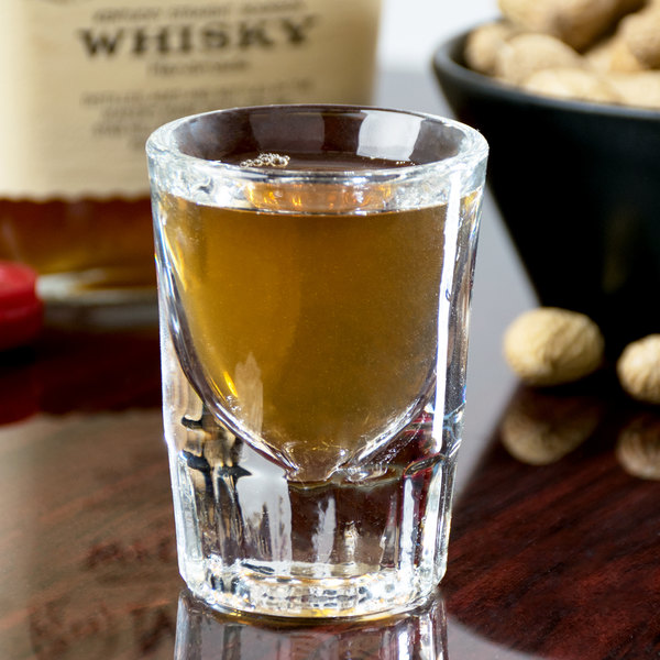 Libbey 5127 1.5 oz. Fluted Whiskey / Shot Glass - 12/Case