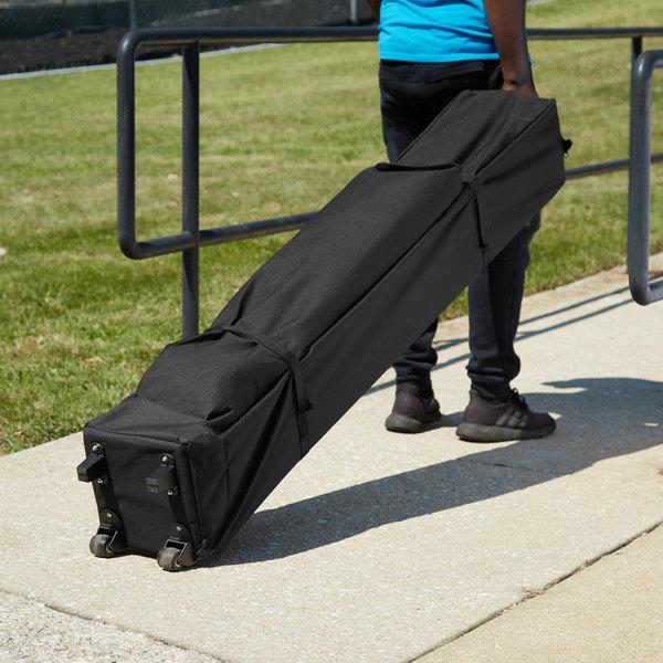 Backyard Pro Courtyard Series Black 10' x 10' Canopy Roller Bag Main Image 5
