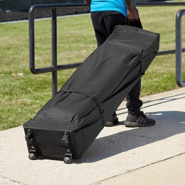 Backyard Pro Courtyard Series Black 10' x 20' Canopy Roller Bag Main Image 5