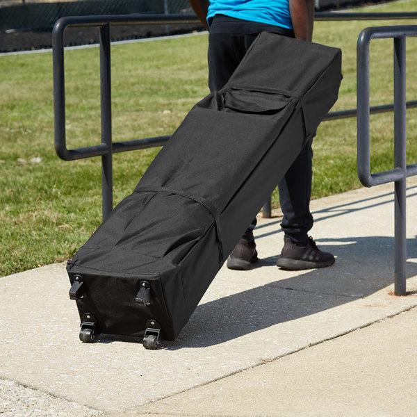 Backyard Pro Courtyard Series Black 10' x 15' Canopy Roller Bag Main Image 5