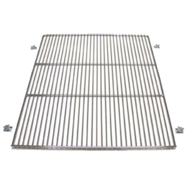 "True 919450 Stainless Steel Wire Shelf with Shelf Clips - 25"" x 28 13/16"" Main Image 1"