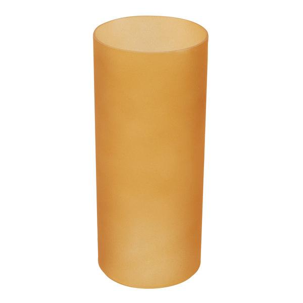 Sterno 85318 Table Lamp Orange Frost Cylinder Globe Main Image 1