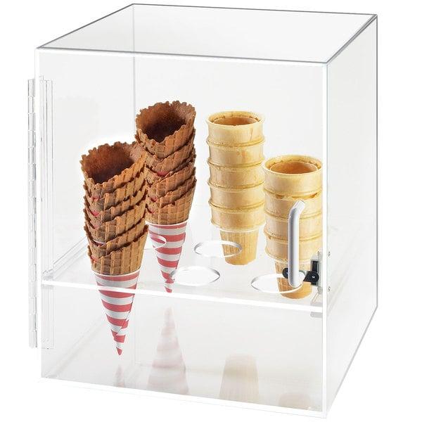 Cal-Mil 386 Nine Cone Ice Cream Cone Holder Cabinet Main Image 1