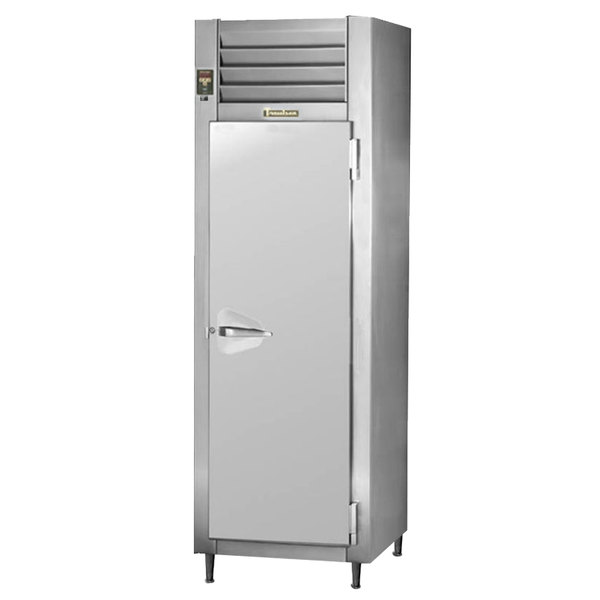 Traulsen RHT132WPUT-FHS Stainless Steel 25.2 Cu. Ft. One Section Pass-Through Refrigerator - Specification Line