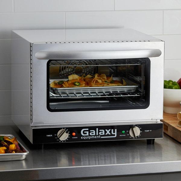 Galaxy COE3Q Quarter Size Countertop Convection Oven - 120V Main Image 5
