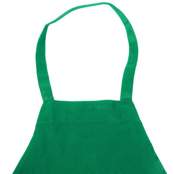 cce3dc16ac0 Chef Revival Customizable Full-Length Kelly Green Bib Apron - 34