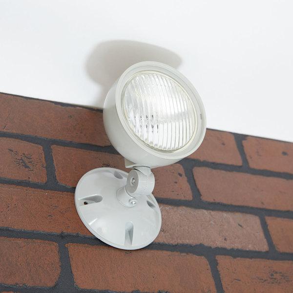 Weatherproof Remote Light 1 Head Adjustable Cast Aluminum 6V
