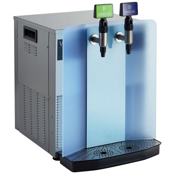 Vivreau V3-204 Mini Countertop Still / Sparkling Filtered Water Bottling System Main Image 1