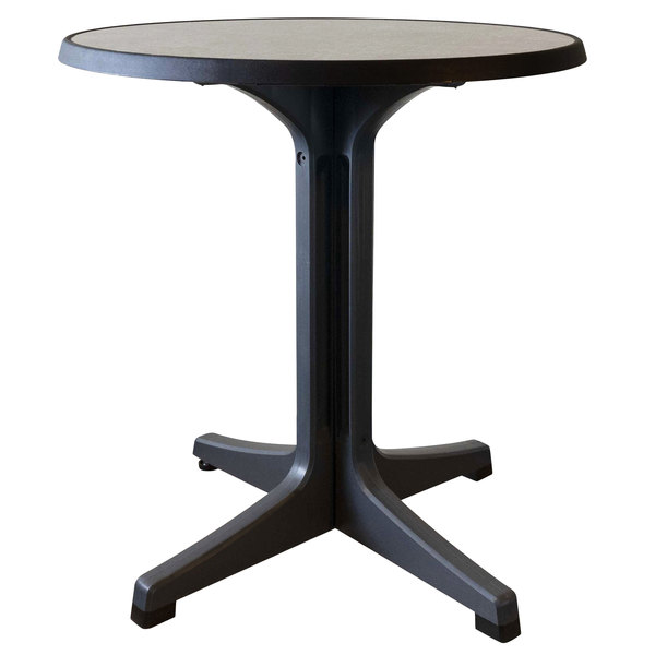 Grosfillex Us284746 Omega 28 Round, 28 Round Table