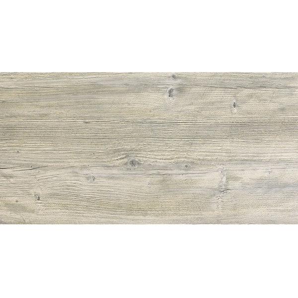 "Grosfillex US60VG71 VanGuard 30"" x 60"" White Oak Resin Indoor Table Top Main Image 1"