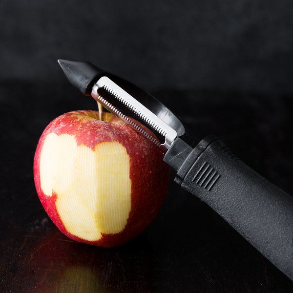 """7 1/4"""" Straight Vegetable Peeler with Serrated Stainless Steel Blade Main Image 8"""