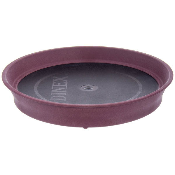 Dinex DX1411061 Cranberry Induction Base for DuraTherm Induction Charger - 12/Case Main Image 1
