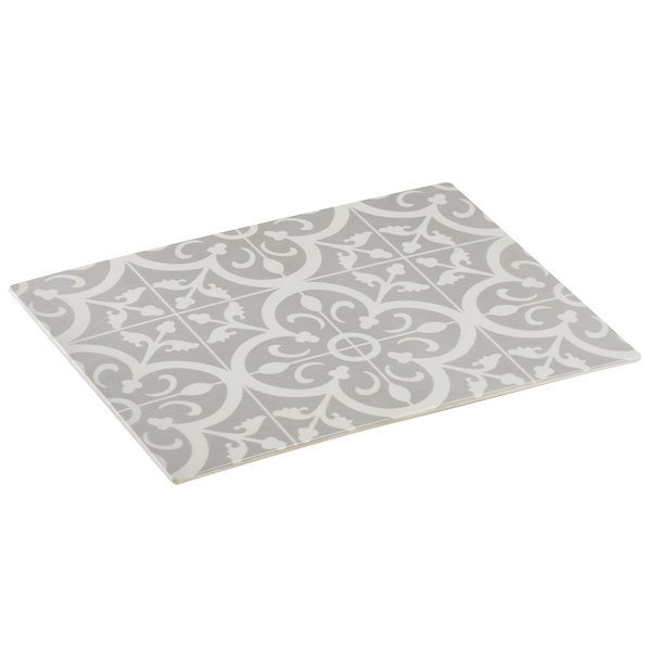 """Cal-Mil 4000-86TILE Granada Melamine Replacement Tile for Sneeze Guard Station - 18"""" x 13 1/2"""" x 1/2"""""""