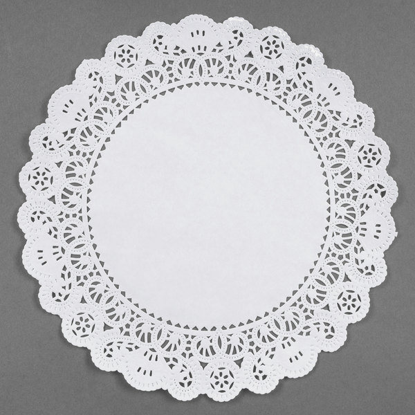 Royal 9 Inch Disposable Paper Lace Doilies Package of 500