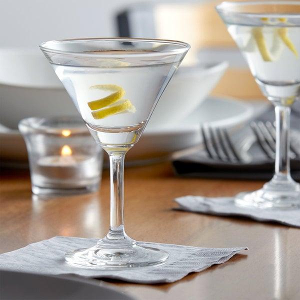 Acopa 3.25 oz. Taster Martini Glass - 12/Case