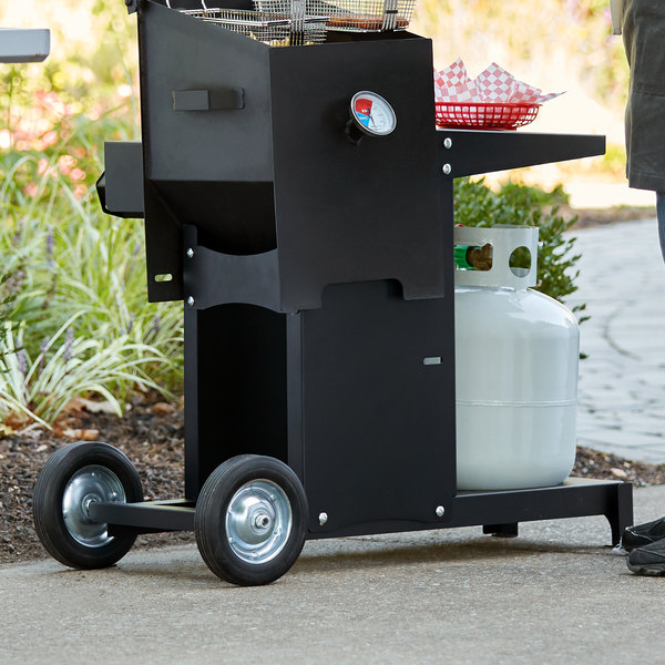 Backyard Pro BPF4STAND Mobile Stand for Outdoor Deep Fryer Main Image 3