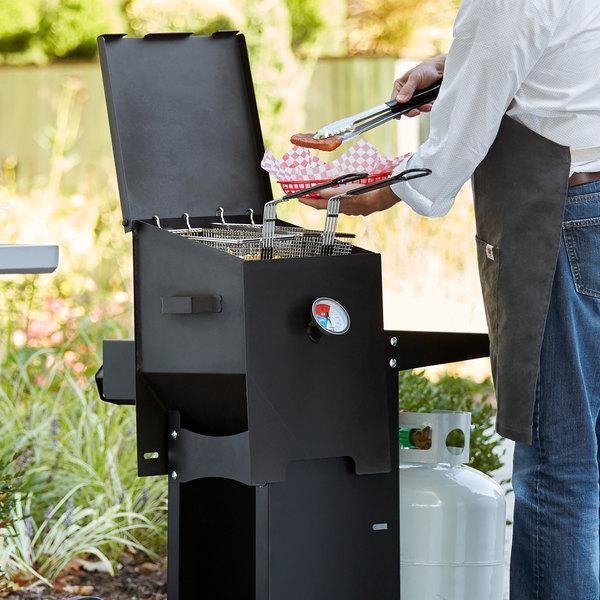 Backyard Pro BPF4G 4 Gallon Steel Liquid Propane Outdoor Deep Fryer - 90,000 BTU Main Image 4