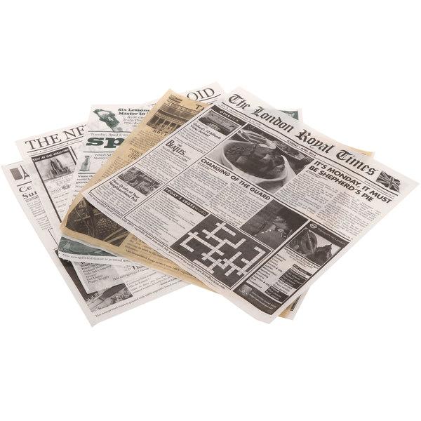Newsprint Liner Variety Pack
