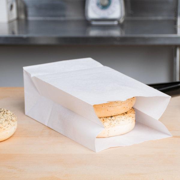 6 lb. Waxed Paper Bag - 1000/Case