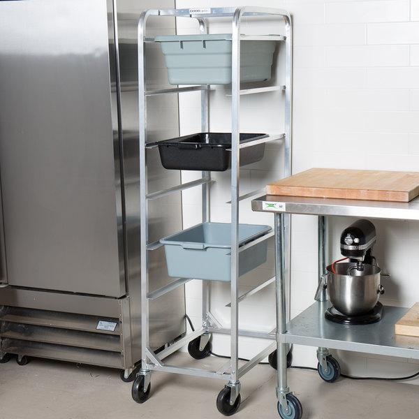 Kitchen Supplies Near Me: Channel 506LA Mobile Aluminum Lug Rack