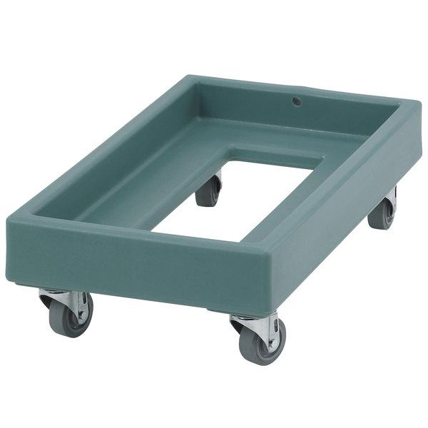 Cambro CD1327401 300 lb. Slate Blue Camdolly Milk Crate Dolly Main Image 1
