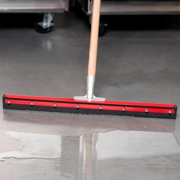 "Carlisle 4008200 Floor Cleaning Squeegee 24"" Double Foam"
