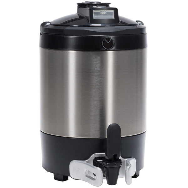Bunn 42750.0250 TF 1.5 Gallon Stainless Steel ThermoFresh Server with Digital Sight Gauge Main Image 1