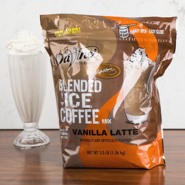 DaVinci Gourmet Ready to Use Vanilla Latte Mix - 3 lb.