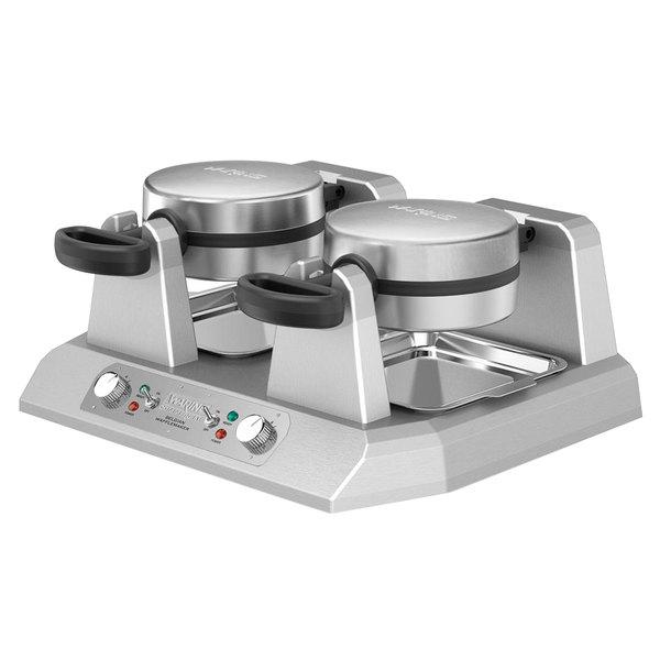 Waring WW250X Commercial Double Belgian Waffle Iron / Maker - 120V