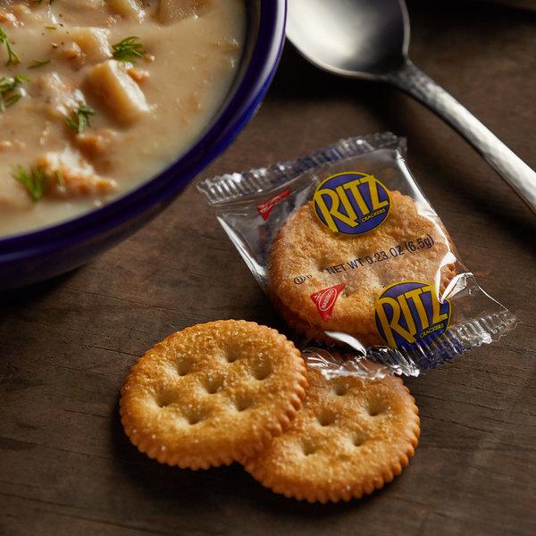 Nabisco Ritz 2 Count (0.23 oz.) Original Crackers - 300/Case Main Image 2