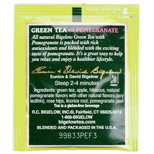 Bigelow Green Tea with Pomegranate - 28/Box