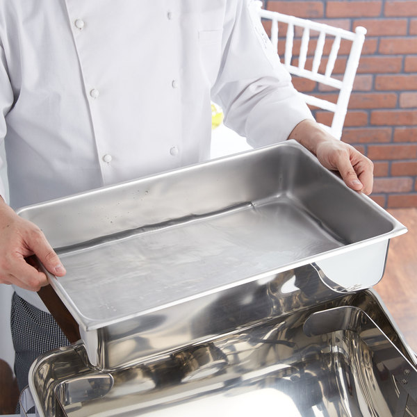 Vollrath 46082 9 Qt. Full-Size Replacement Stainless Steel Water Pan
