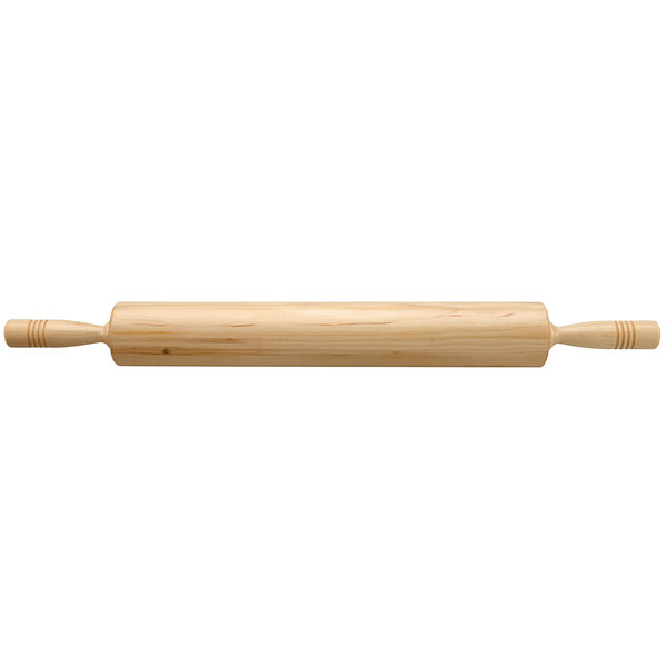"""Fletchers' Mill 318RP12 18"""" Maple Wood Rolling Pin Main Image 1"""