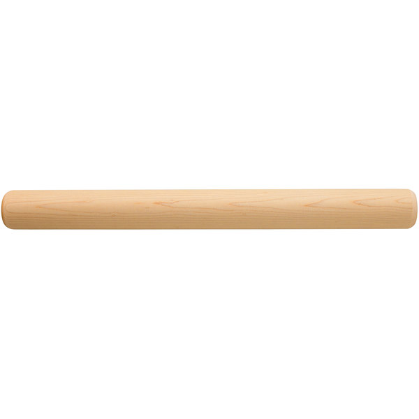 "Fletchers' Mill BAKRP12 18 1/2"" Maple Wood French Rolling Pin Main Image 1"