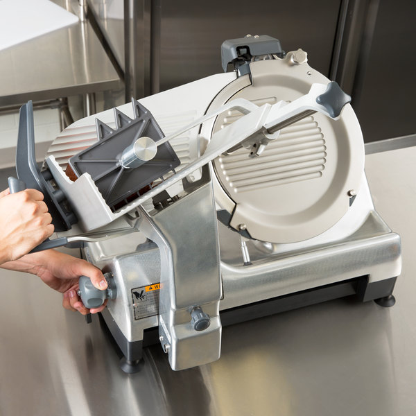 """Hobart HS7-1 13"""" Automatic Slicer with Removable Knife - 1/2 hp"""