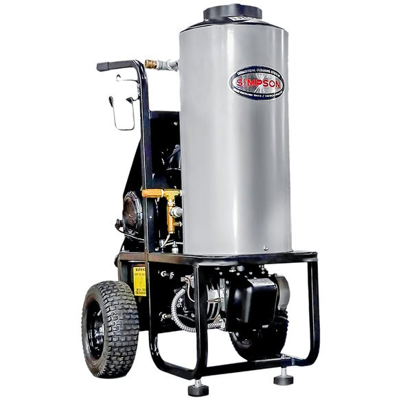 Simpson 60363 Mini Brute Hot Water Pressure Washer with 50' Hose - 1500 PSI; 1.8 GPM Main Image 1